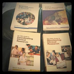 Clinical Research Coordinator Books